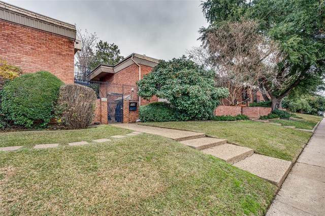 4340 Cedar Springs Road #107, Dallas, TX 75219 (MLS #14505917) :: The Mauelshagen Group