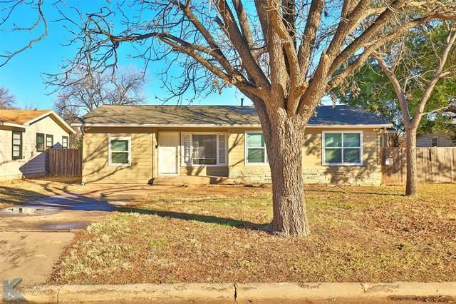 4110 Waldemar Street, Abilene, TX 79605 (MLS #14506011) :: The Mauelshagen Group