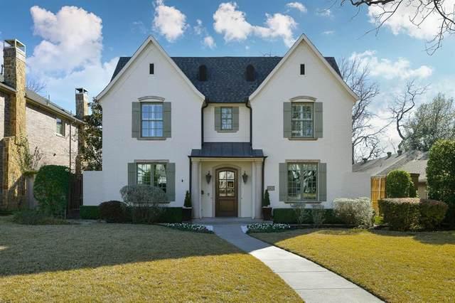 2805 Amherst Avenue, University Park, TX 75225 (MLS #14506163) :: NewHomePrograms.com