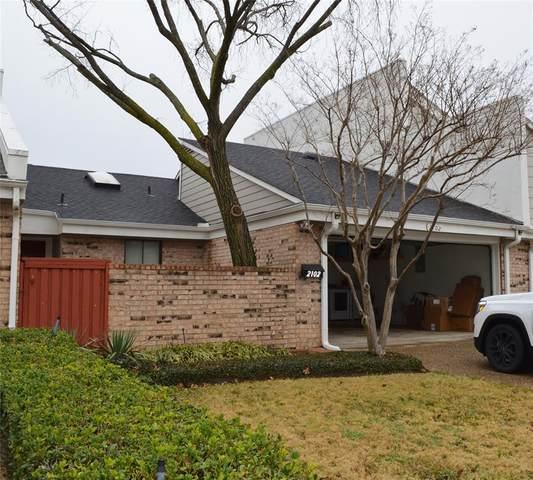2102 Willowgate Lane, Carrollton, TX 75006 (MLS #14506574) :: The Mauelshagen Group