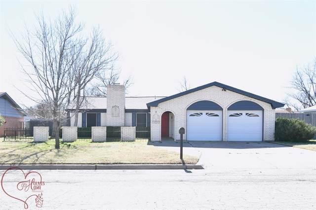 2509 Arrowhead Drive, Abilene, TX 79606 (MLS #14506961) :: The Mauelshagen Group