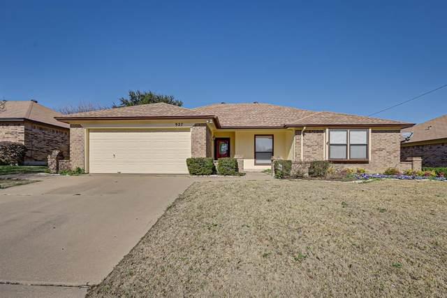 927 Thistle Ridge Lane, Arlington, TX 76017 (MLS #14507086) :: The Good Home Team