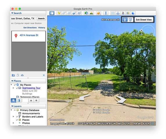 4014 Aransas Street, Dallas, TX 75212 (MLS #14507125) :: The Good Home Team