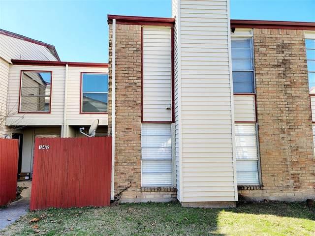919 S Weatherred Drive #142, Richardson, TX 75080 (MLS #14507284) :: The Good Home Team