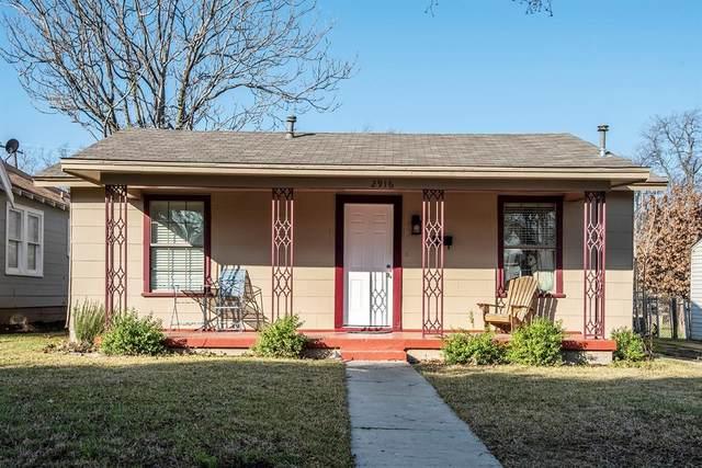 2916 Ryan Avenue, Fort Worth, TX 76110 (MLS #14508127) :: The Kimberly Davis Group