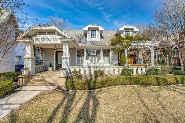 5739 Monticello Avenue, Dallas, TX 75206 (MLS #14508953) :: The Property Guys