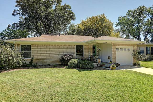4633 Selkirk Drive, Fort Worth, TX 76109 (MLS #14508957) :: Robbins Real Estate Group
