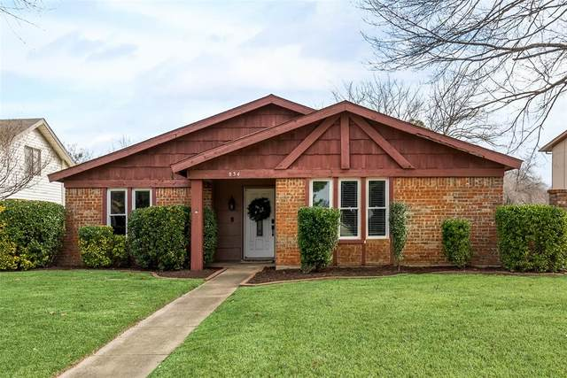 834 Holly Oak Drive, Lewisville, TX 75067 (MLS #14510173) :: The Property Guys