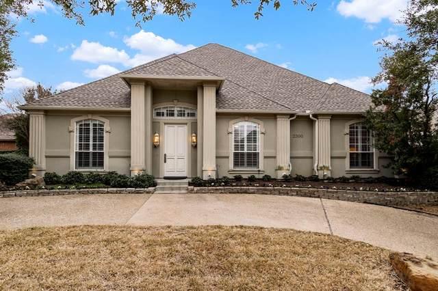 2300 Creekside Circle N, Irving, TX 75063 (MLS #14510212) :: Robbins Real Estate Group