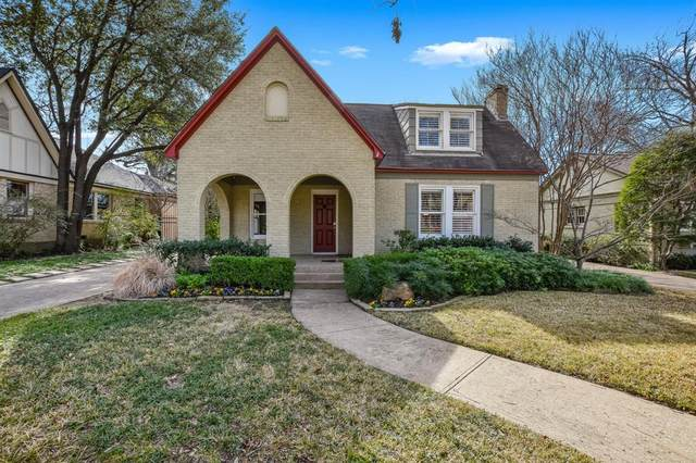 5622 Merrimac Avenue, Dallas, TX 75206 (MLS #14511313) :: Real Estate By Design