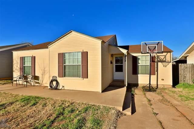 1634 Burger Street, Abilene, TX 79603 (MLS #14511476) :: NewHomePrograms.com