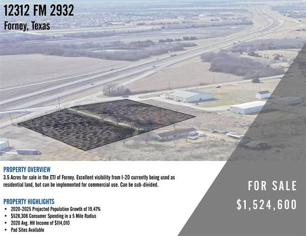 12312 Fm 2932 A, Forney, TX 75126 (#14511648) :: Homes By Lainie Real Estate Group