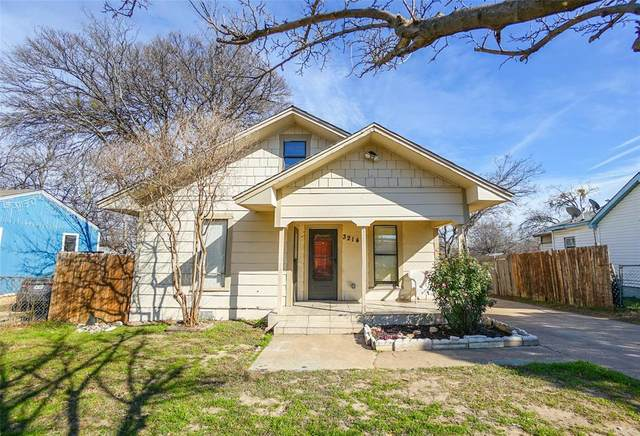 3214 N Houston Street, Fort Worth, TX 76106 (MLS #14511901) :: EXIT Realty Elite