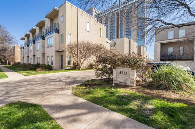 4312 Mckinney Avenue #13, Dallas, TX 75205 (MLS #14512092) :: The Mitchell Group