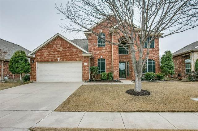 4025 Burwood Drive, Fort Worth, TX 76262 (MLS #14512456) :: The Kimberly Davis Group