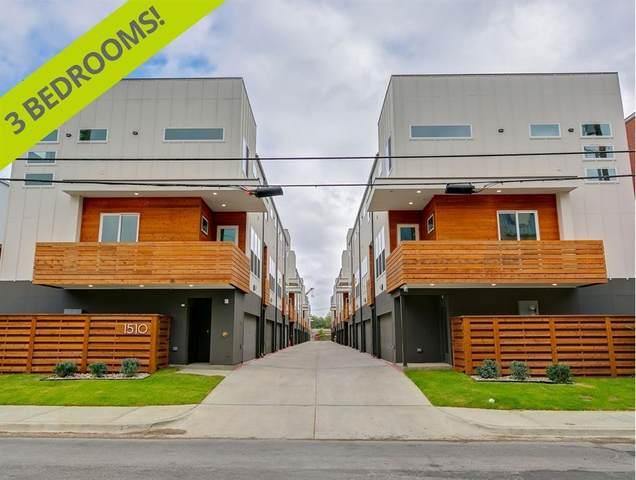 1510 N Washington Avenue #301, Dallas, TX 75204 (MLS #14512484) :: Post Oak Realty