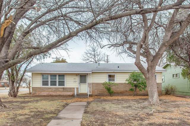 841 Glenhaven Drive, Abilene, TX 79603 (MLS #14513144) :: All Cities USA Realty