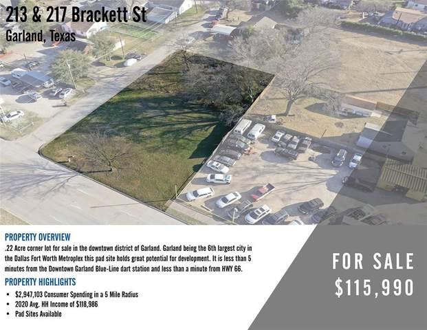 213-217 Brackett Street, Garland, TX 75040 (MLS #14513293) :: The Hornburg Real Estate Group