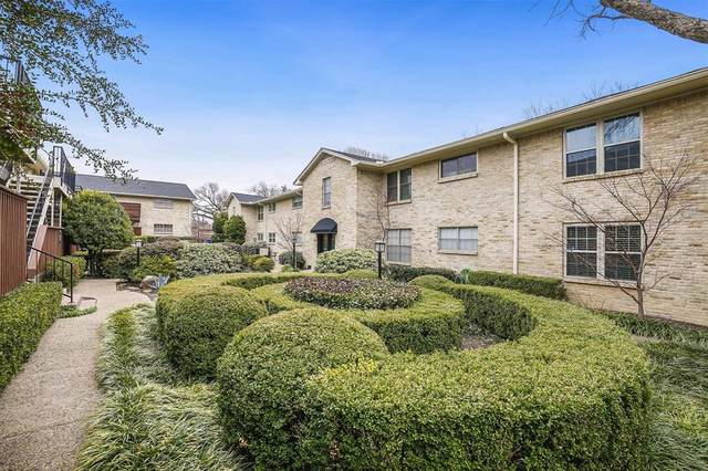 7708 Royal Lane #205, Dallas, TX 75230 (MLS #14513364) :: Team Tiller