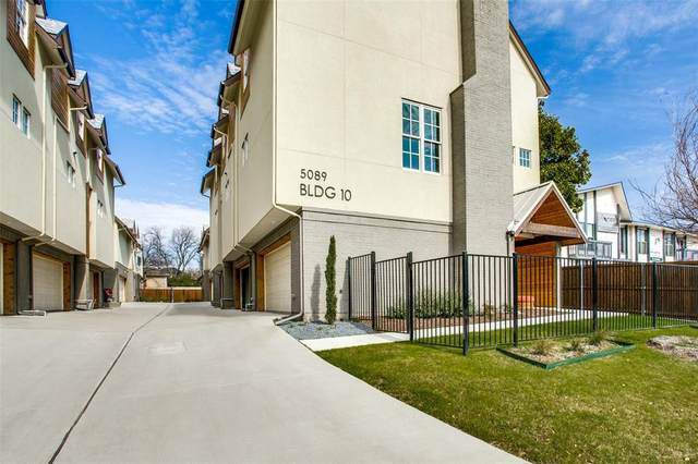 5089 Gaston Avenue #1002, Dallas, TX 75214 (MLS #14514909) :: All Cities USA Realty