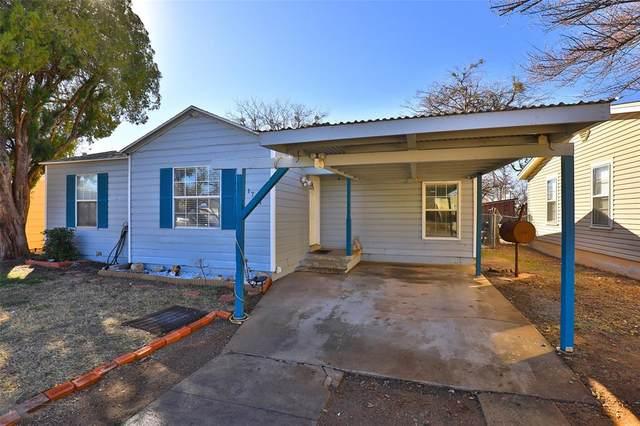 1741 S 23rd Street, Abilene, TX 79602 (MLS #14515313) :: Team Tiller