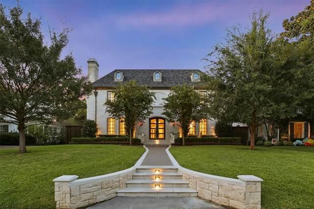 3520 Bryn Mawr Drive, University Park, TX 75225 (MLS #14515548) :: Robbins Real Estate Group