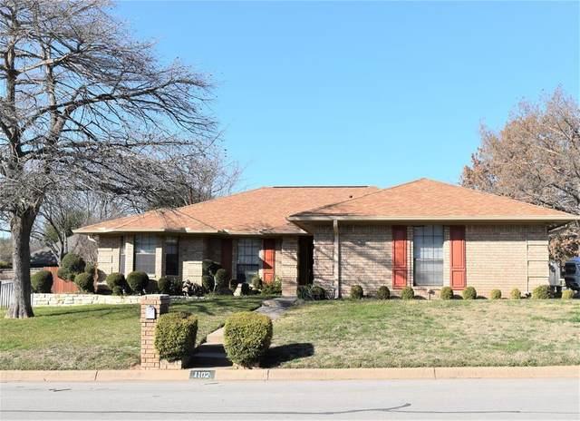 1102 Dirkson Street, Weatherford, TX 76086 (MLS #14515685) :: Team Tiller