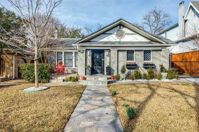 5731 Monticello Avenue, Dallas, TX 75206 (MLS #14515857) :: The Property Guys