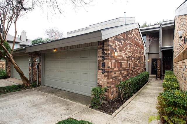 12593 Montego Plaza, Dallas, TX 75230 (MLS #14516184) :: The Hornburg Real Estate Group