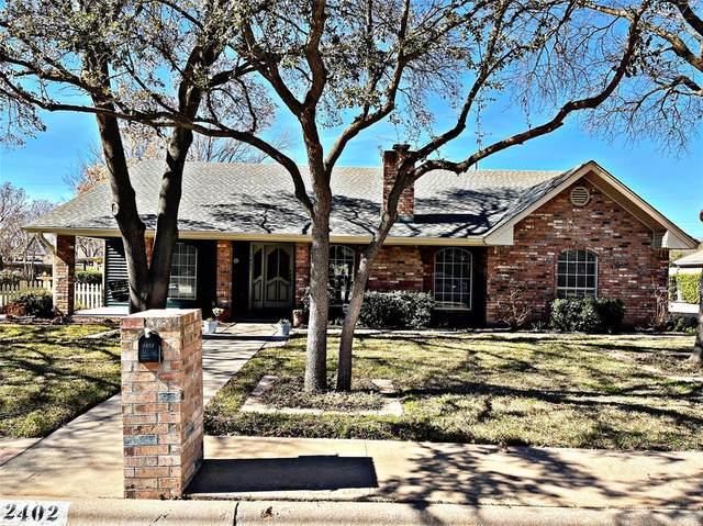 2402 Crestline Drive, Abilene, TX 79602 (MLS #14516669) :: Team Tiller