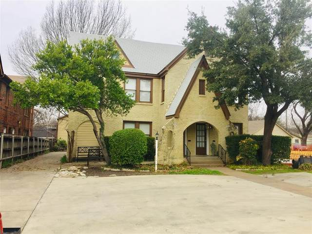 3324 S University Drive, Fort Worth, TX 76109 (MLS #14516985) :: Robbins Real Estate Group