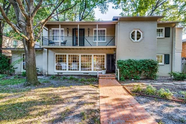 4549 Westway Avenue, Highland Park, TX 75205 (MLS #14517085) :: Wood Real Estate Group