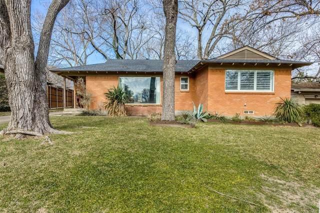 854 Lake Terrace Drive, Dallas, TX 75218 (MLS #14517127) :: The Kimberly Davis Group