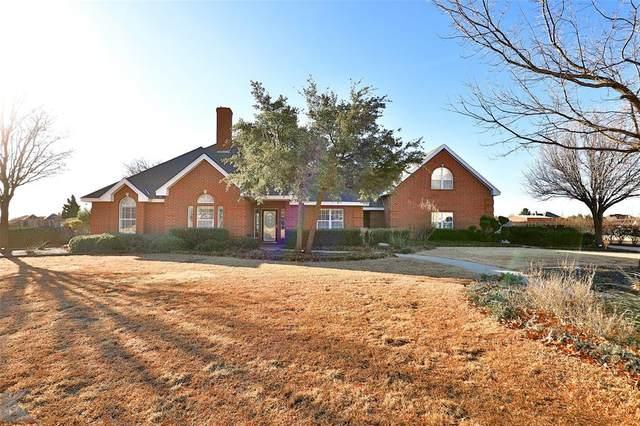 8541 Saddle Creek Road, Abilene, TX 79602 (MLS #14517362) :: Robbins Real Estate Group