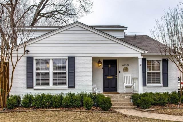 4710 W Amherst Avenue, Dallas, TX 75209 (MLS #14517440) :: Robbins Real Estate Group