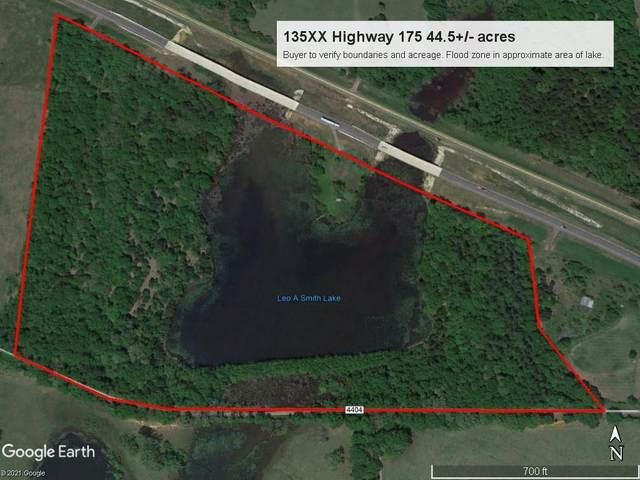 135XX Highway 175, Larue, TX 75770 (MLS #14517445) :: The Kimberly Davis Group