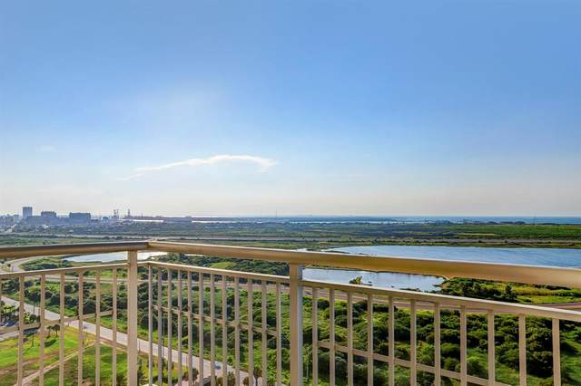 801 E Beach Drive Bc1812, Galveston, TX 77550 (MLS #14517681) :: All Cities USA Realty