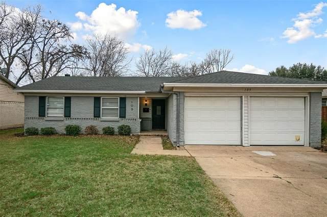 109 Dogwood Drive, Richardson, TX 75080 (MLS #14517684) :: Robbins Real Estate Group