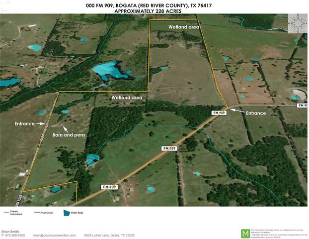 000 Fm 909, Bogata, TX 75417 (MLS #14517692) :: The Mauelshagen Group