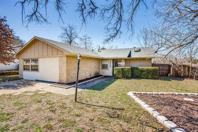 2420 Jewell Drive, Arlington, TX 76016 (MLS #14517710) :: Bray Real Estate Group