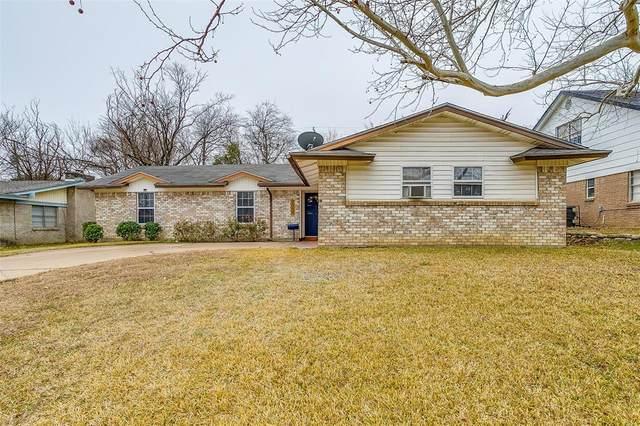 3008 San Marcos Drive, Fort Worth, TX 76116 (MLS #14517875) :: The Kimberly Davis Group