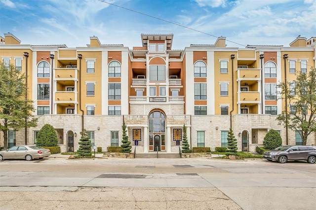 8616 Turtle Creek Boulevard #103, Dallas, TX 75225 (MLS #14518087) :: Maegan Brest | Keller Williams Realty
