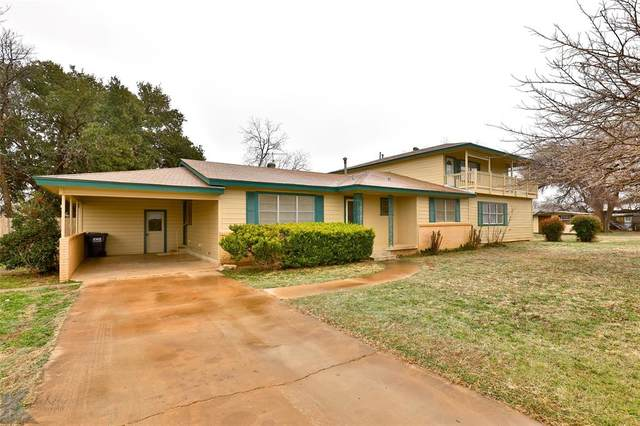 809 Locust, Merkel, TX 79536 (MLS #14518555) :: The Chad Smith Team
