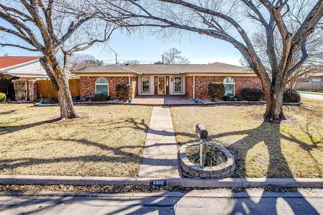 5900 Circle Drive N, North Richland Hills, TX 76180 (MLS #14518584) :: The Kimberly Davis Group