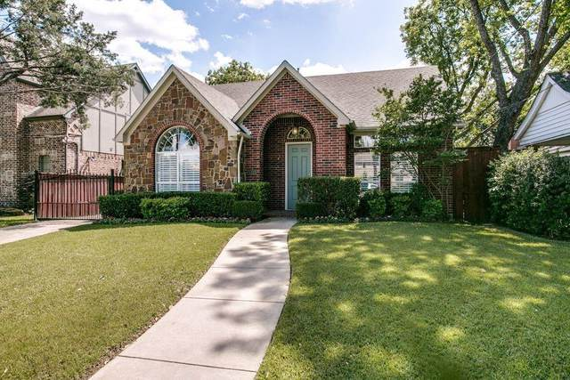 5211 Maple Springs Boulevard, Dallas, TX 75235 (MLS #14518833) :: Bray Real Estate Group