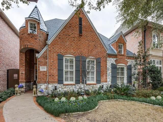 11941 Edgestone Road, Dallas, TX 75230 (MLS #14518965) :: Robbins Real Estate Group