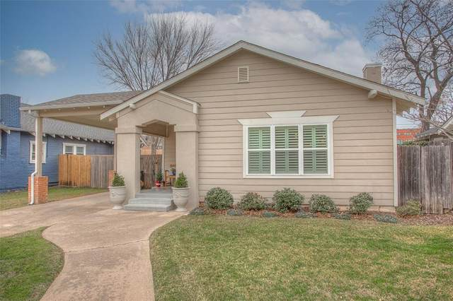2116 Western Avenue, Fort Worth, TX 76107 (MLS #14518987) :: The Kimberly Davis Group