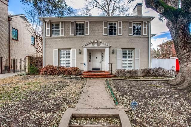 4516 Bordeaux Avenue, Highland Park, TX 75205 (MLS #14519179) :: Robbins Real Estate Group