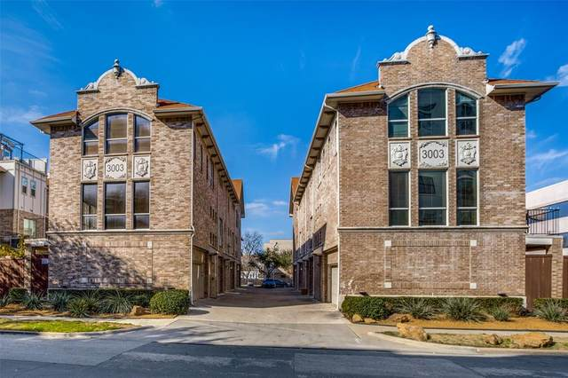 3003 Douglas Avenue #18, Dallas, TX 75219 (MLS #14519216) :: The Tierny Jordan Network