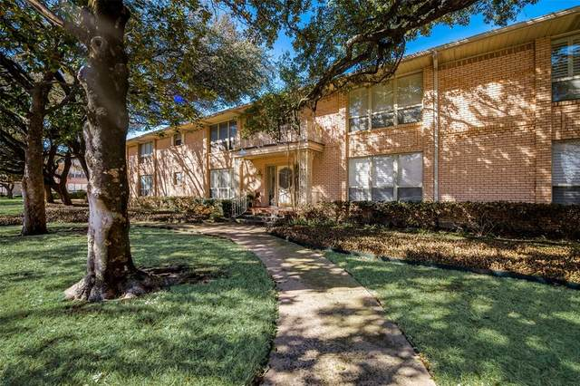 8629 Edgemere Road #11, Dallas, TX 75225 (MLS #14519619) :: Justin Bassett Realty